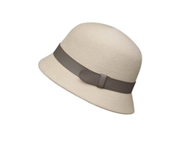 Hermes - Pearl Grey Felt Hat