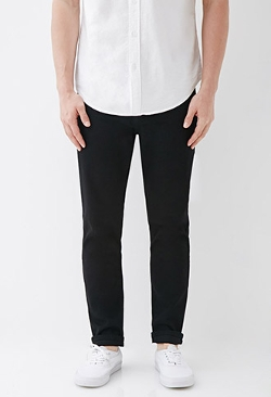 Forever 21 - Clean Wash Slim Fit Jeans