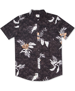 Rusty Caves - Printed Short-Sleeve Shirt