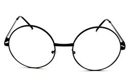 Style Vault - Metal Round Eyeglasses