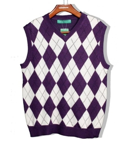 Golf Knickers - Argyle Sweater Vest