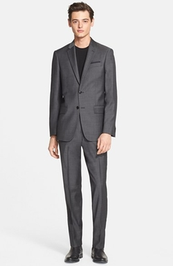 John Varvatos Star USA  - Trim Fit Wool Suit