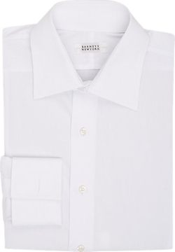 Barneys New York  - Poplin Dress Shirt