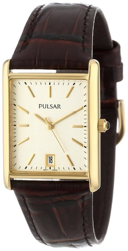Pulsar - Leather Strap Watch