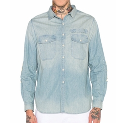 Stampd - Repaired Denim Shirt