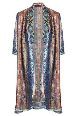 Boohooo Botique - Elsie Silky Longline Kimono