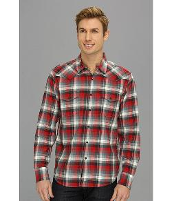 Lucky Brand  - Downdraft Plaid Western Shirt