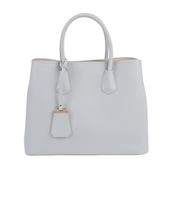Inzi - Contrast Lining Tote Bag