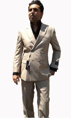 Mens Italy - Double Breasted Suit