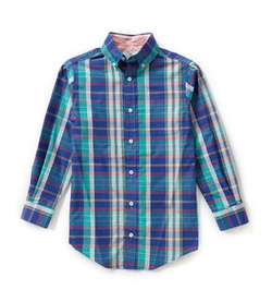 Class Club - Plaid Woven Shirt
