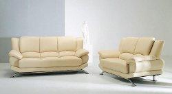 Hokku Designs  - Jaeger Leather Sofa Set