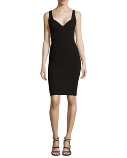Zac Posen - Sleeveless Sweetheart Cocktail Dress