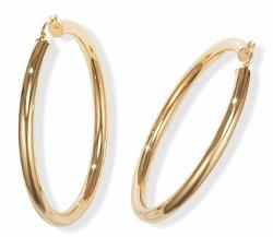 Heavenly Treasure - Gold Hoop Earrings