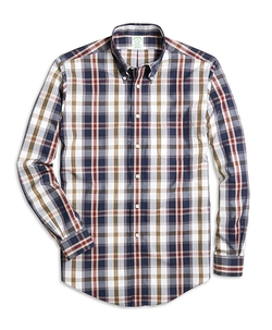 Brooks Brothers - Milano Fit Large Plaid Sport Shirt