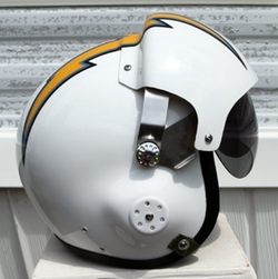 NFL - San Diego Chargers Fighter Pilot Helmet