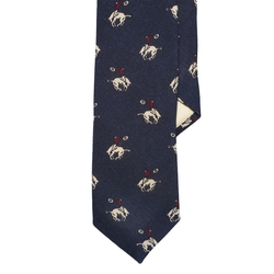 Polo Ralph Lauren - Rodeo Wool Challis Tie