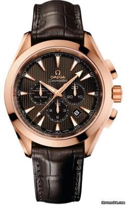 Omega  - Aqua Terra Chronograph Watch