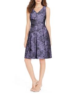 Ralph Lauren - Pleated Floral Dress