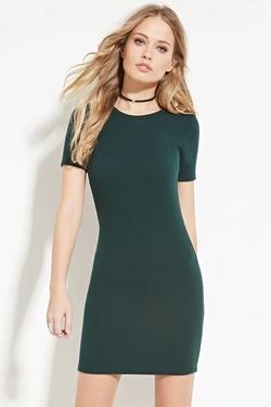 Forever 21 - Zip-Back Mini Dress
