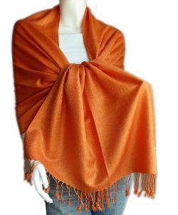 Scarf_Tradinc - Large Soft 100% Twill Pashmina Scarf Shawl Wrap
