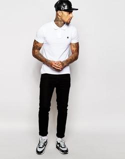Asos - Pique Muscle Polo Shirt