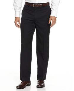 Alfani  - Black Solid Texture Pants