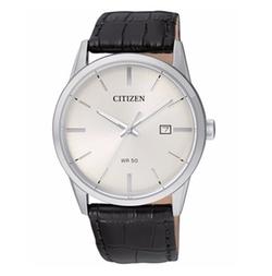Citizen - Quartz Leather Strap Watch