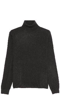 Vince  - Cashmere Turtleneck with Elbow Patches