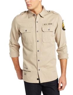 Alpha Industries - Caliber Herringbone Woven Shirt