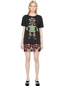 Mary Katrantzou - Tikkiman Printed Modal Jersey T-Shirt
