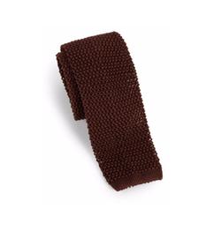 Charvet  - Solid Silk Knit Tie