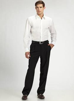 Boss Hugo Boss  - Dr. Hook Pleated Trousers