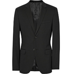 Theory - Black Wellar Slim-Fit Stretch-Wool Suit Jacket