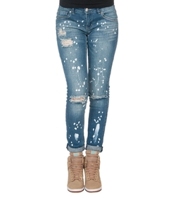 Essentials - Antique Paint Splatter Jeans