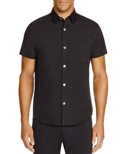 Theory  - Rammis Short Sleeve Slim Fit Button Down Shirt