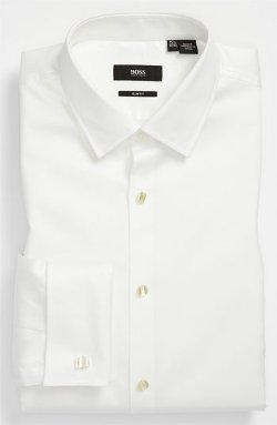 Hugo Boss - Slim Fit Tuxedo Shirt