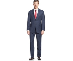 Tommy Hilfiger  - Plaid Classic-Fit Suit