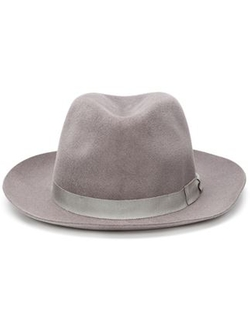 Larose Paris   - Small Grosgrain Trim Fedora