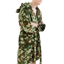 Tangda - Camouflage Hooded Robe