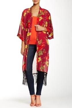 Romeo & Juliet Couture - Fringe Kimono