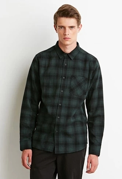 21Men - Plaid Flannel Shirt