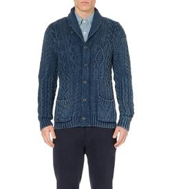 Ralph Lauren - Chunky-Knit Cotton Cardigan Sweater