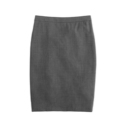 J. Crew - Italian Stretch Wool Pencil Skirt