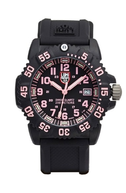 Luminox - Navy Seal Colormark Silicone Strap Watch
