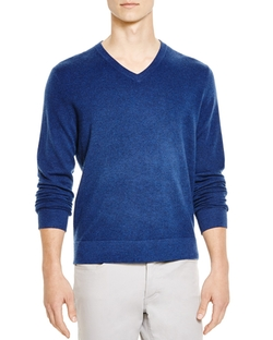 Bloomingdale - Cashmere V-Neck Sweater