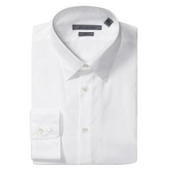John Varvatos Collection  - Slim Solid Point Shirt
