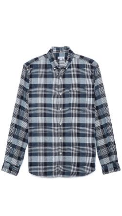Steven Alan  - Plaid Sport Shirt