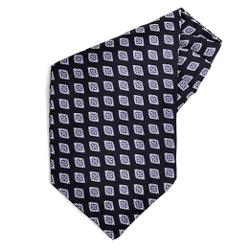 Cuff Cuff - Geometric Silk Ascot Tie