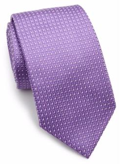 Armani Collezioni  - Printed SIlk Tie