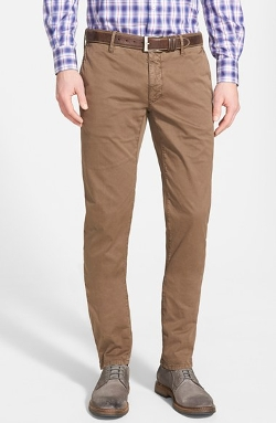 Incotex - Slim Fit Gabardine Chino Pants